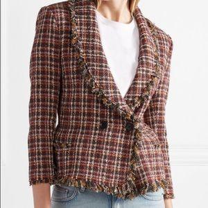 isabel marant etoile Nicole Tweed jacket 34 xs NWT